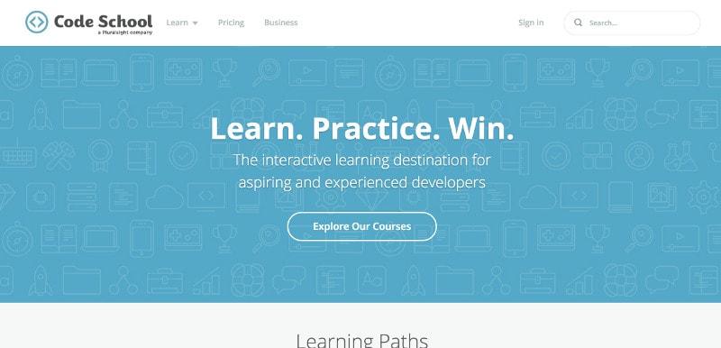 Learn coding and web development: Code School