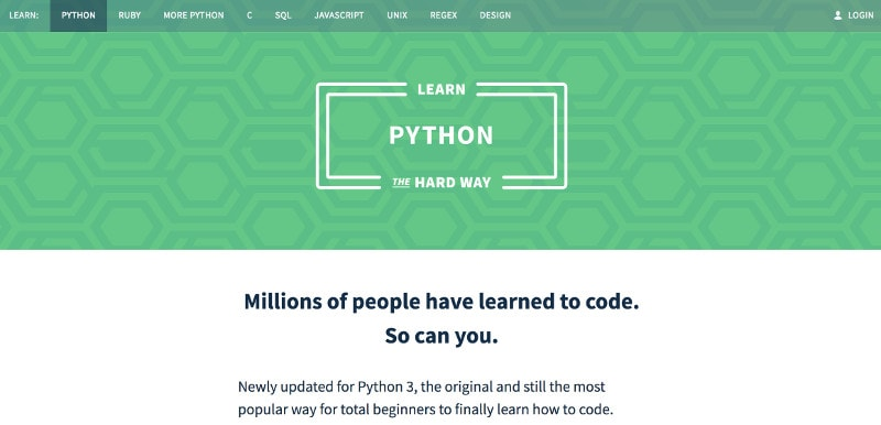 Learn programming and web development online: Learn Python the Hard Way