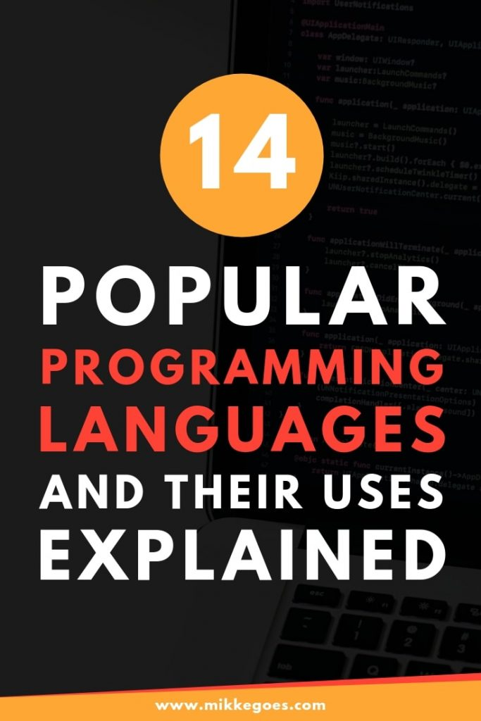14 popular programming languages and their uses explained for beginner developers