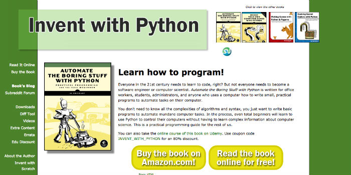 Learn Python Online - Invent with Python