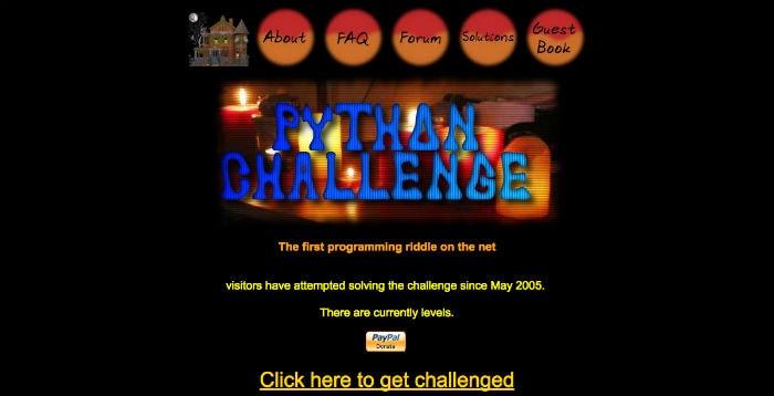 Learn Python Online - Python Challenge