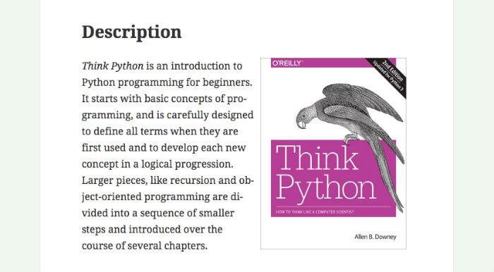 Learn Python Online - Think Python Book