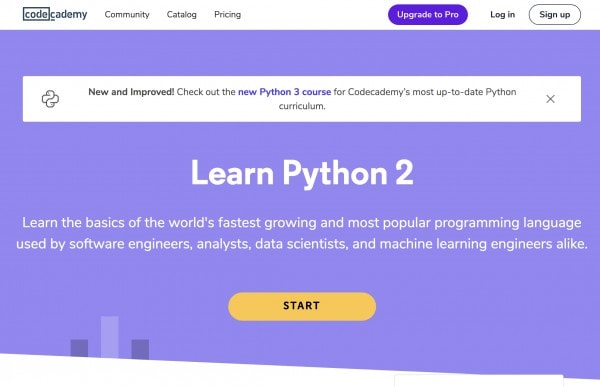 Learn Python online with Codecademy - Free Python courses and tutorials for beginners