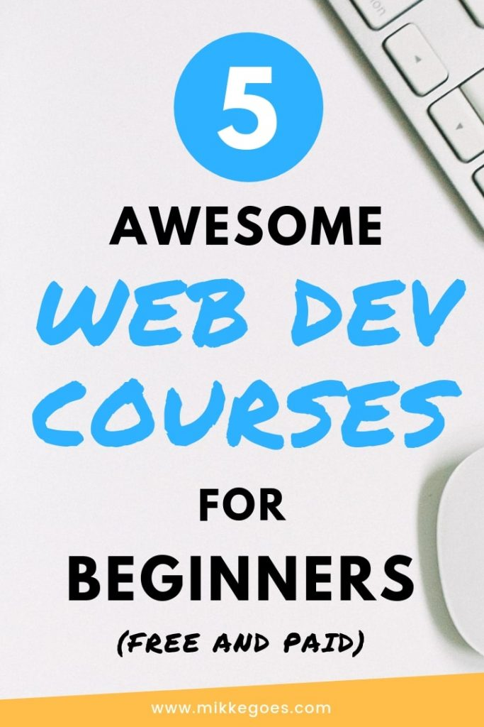 The Best Web Development Courses for Beginners! Learn web development and website coding from scratch with these 5 powerful online coding courses for beginners