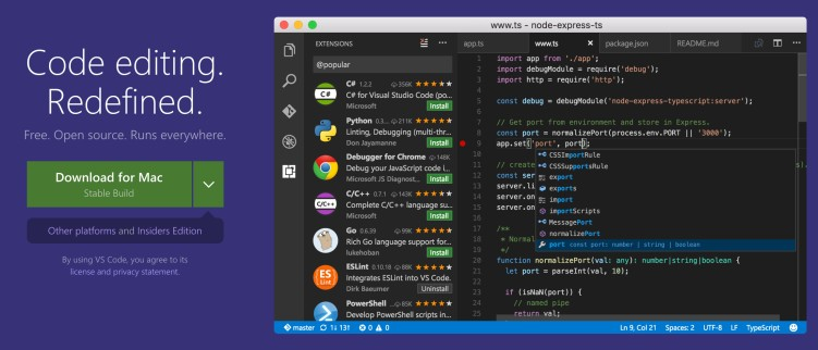 Best text editors for coding and programming - Code editors for web development 02