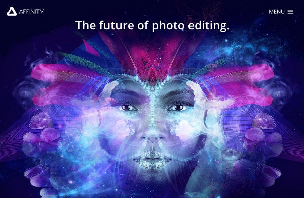 Professional photo editing software: Affinity Photo