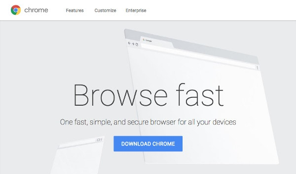 Download the Google Chrome web browser