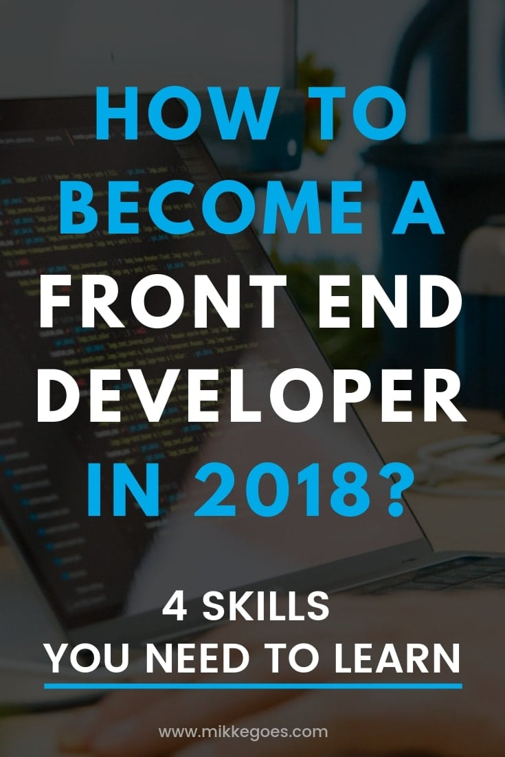 Learn coding for beginners - How to become a front end developer - What does a front end developer do - How much money does a front end developer make