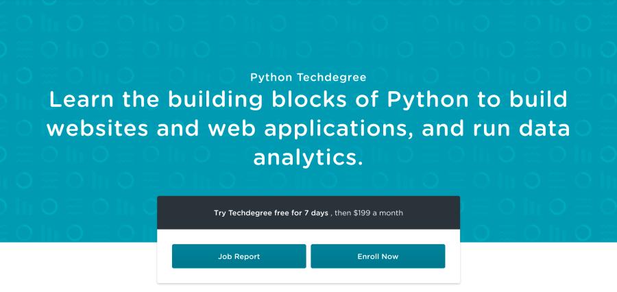 Python Techdegree at Team Treehouse