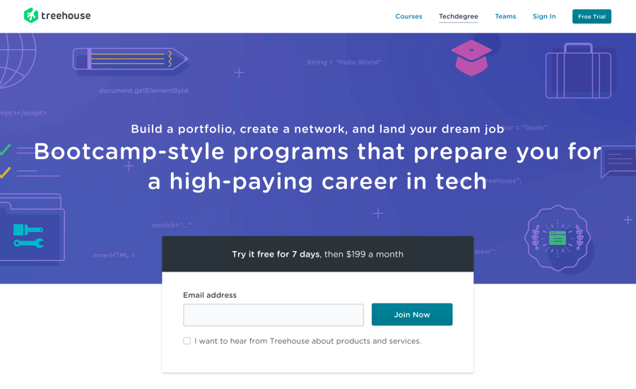 Treehouse Techdegree review - What is the Techdegree program
