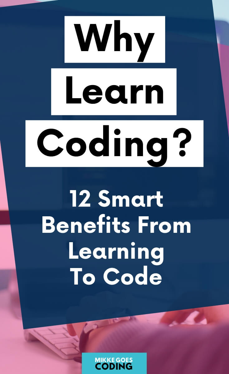 Are you thinking of learning how to code this year? Congratulations! Learning programming has never been easier AND the demand for skilled developers is higher than ever. Use this beginner\'s guide to find your motivation and start learning coding right away! Dip your toes in beginner-level tutorials and online courses, use my learning tips to find the right programming language, and build your first small coding projects in no time! #coding #programming #webdevelopment #mikkegoes