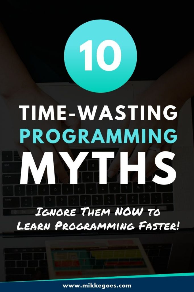 Coding myths and misconceptions for beginners