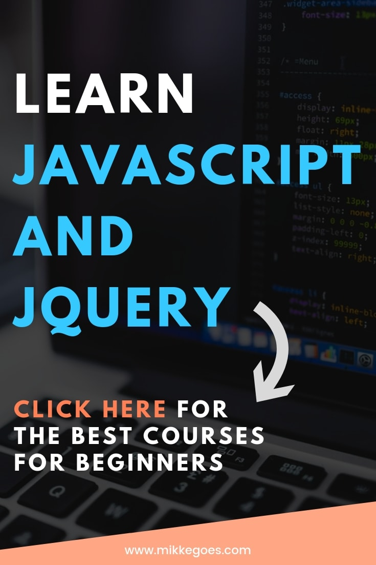 Learn JavaScript for beginners step by step with the best JavaScript courses for beginners