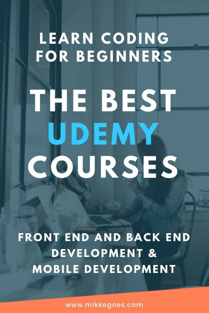 The Best Udemy Courses - Learn Coding Online - The Best Online Coding Courses in Front End Development and Back End Development for Beginners