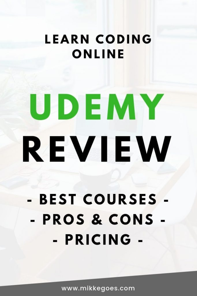 Udemy Review - Is Udemy Worth it - Learn Coding Online - The Best Online Coding Courses in Front End Development and Back End Development for Beginners