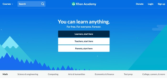 Best Websites to Learn Coding and Web Development for Beginners - Khan Academy