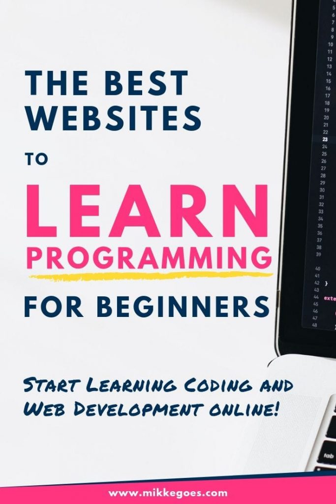 The best places to learn programming and web development online for beginners