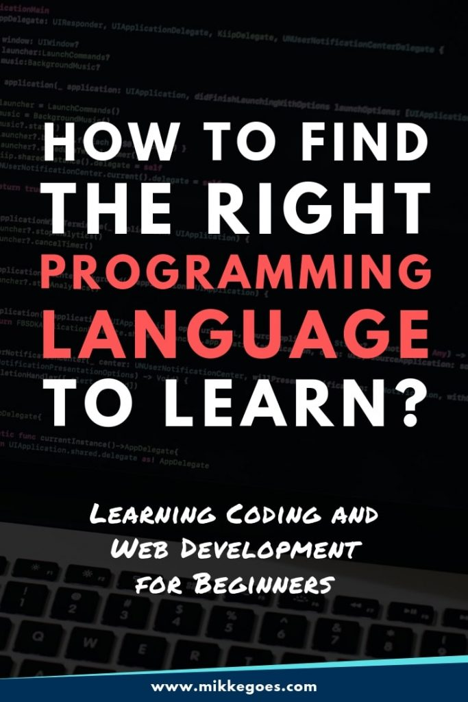 What Programming Language Should I Learn in 2019? Beginner's