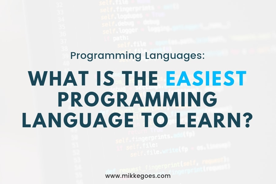 How to Find the Easiest Programming Language for Beginners?