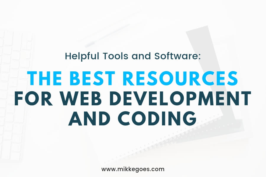 Best resources for web development and coding projects for beginners