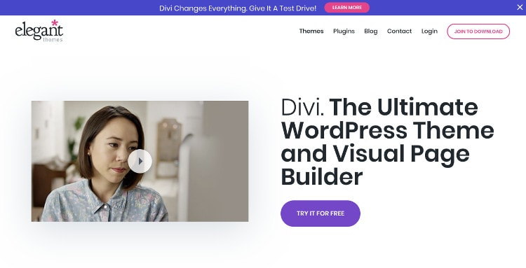 Divi WordPress theme - Building a freelance web development portfolio