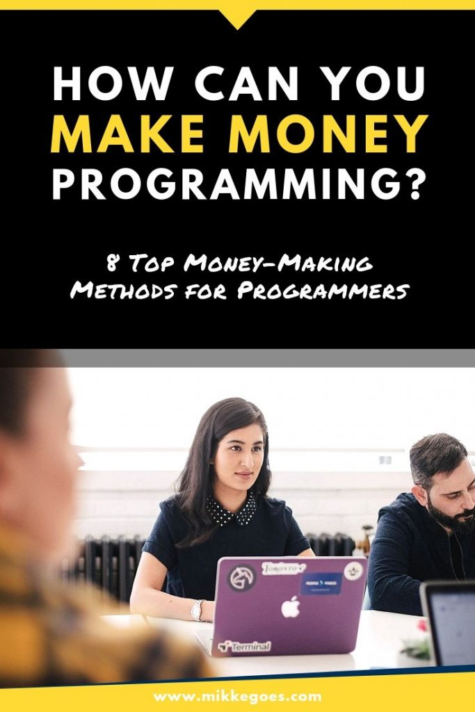How to make money programming as a developer