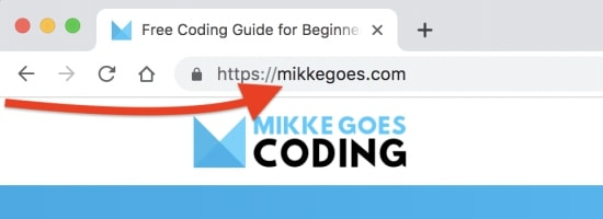 Domain name for mikkegoes.com