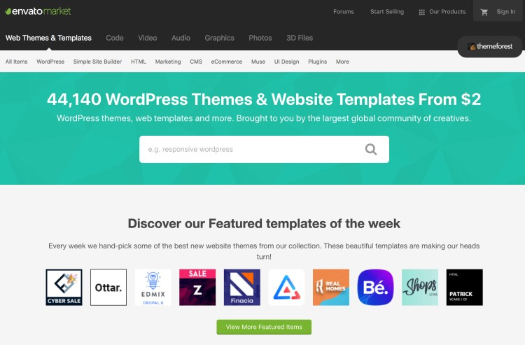 Sell WordPress Themes on Themeforest - Make Money Programming