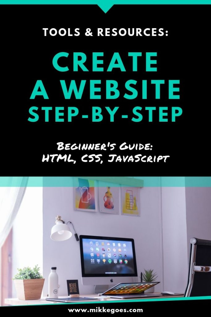 How to build a website for beginners