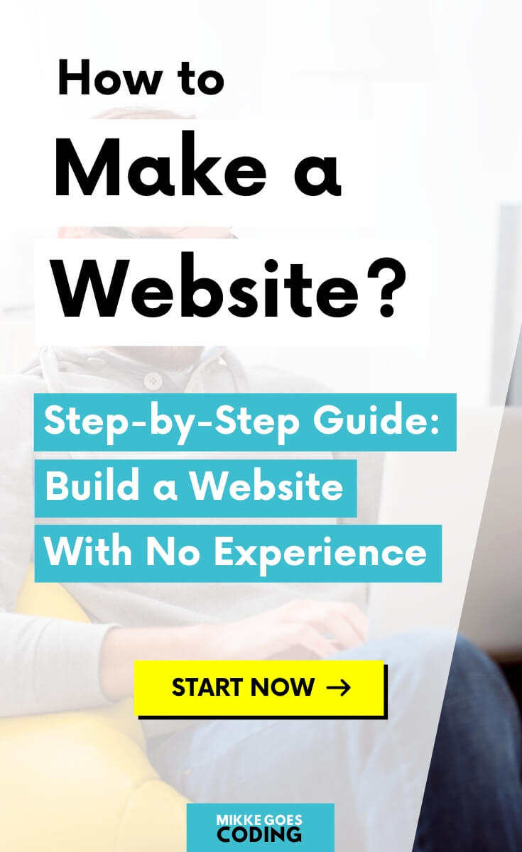 Are you building a website for yourself, your business or your company? Use this free beginners guide to learn how to build and design a professional website with no experience, step-by-step. Find helpful tips to build a website from scratch or using a CMS like WordPress to make your site easier to manage and update. Why not start building it today? #website #webdevelopment #webdesign #mikkegoes #coding #programming #webdeveloper