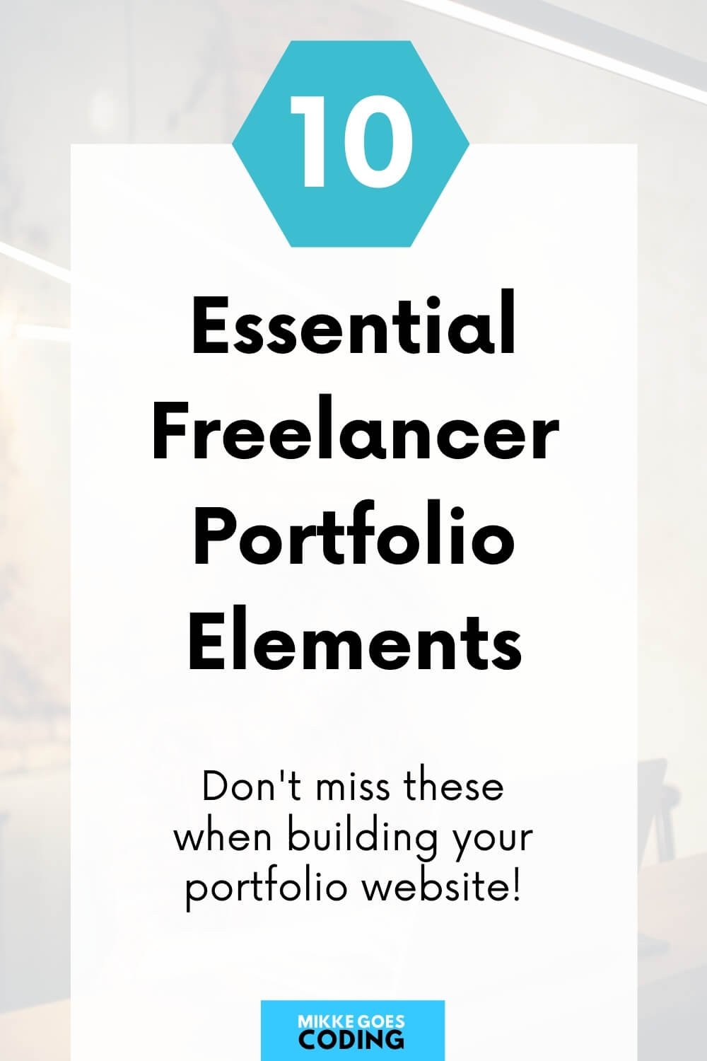 10 Things to Include in Your Freelance Portfolio Website in 2021