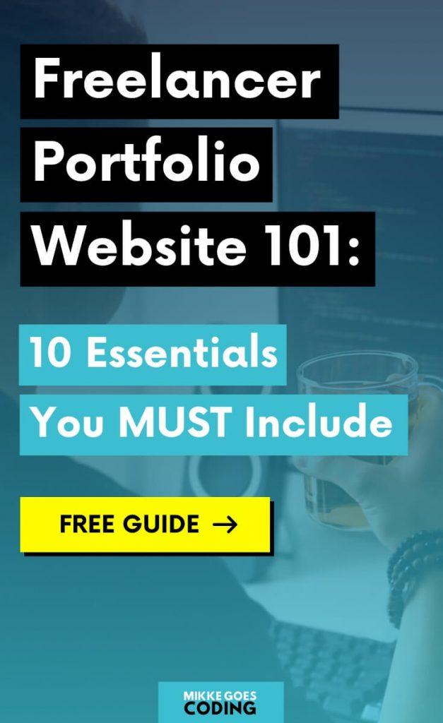 Freelancer portfolio website guide - Things you should include in your portfolio