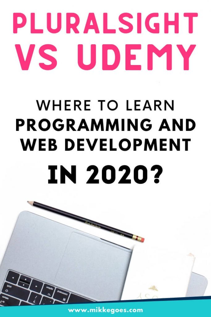 Udemy vs Pluralsight - Which one is better for learning to code online for beginners