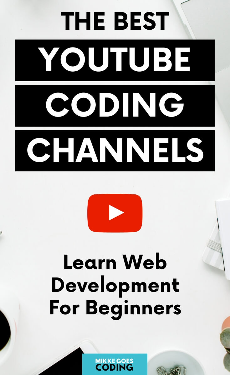Are you wondering if you can learn to code for free by watching YouTube tutorials? You definitely can! And it\'s not just free, but there are tons of amazing programming and web development channels to start learning tech skills from scratch. If you are new to coding, check out these great YouTube channels to learn programming for absolute beginners. Pick a channel, choose your tools and language, and start your first tutorial right now! #coding #programming #webdevelopment #tech #mikkegoes