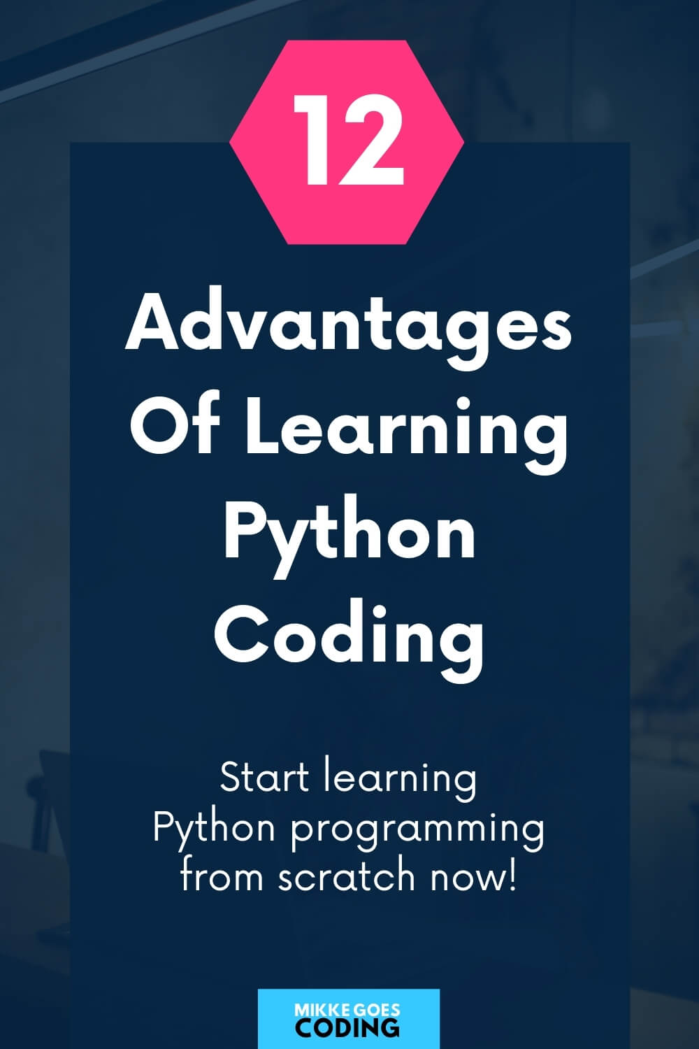 Advantages of learning Python coding 01