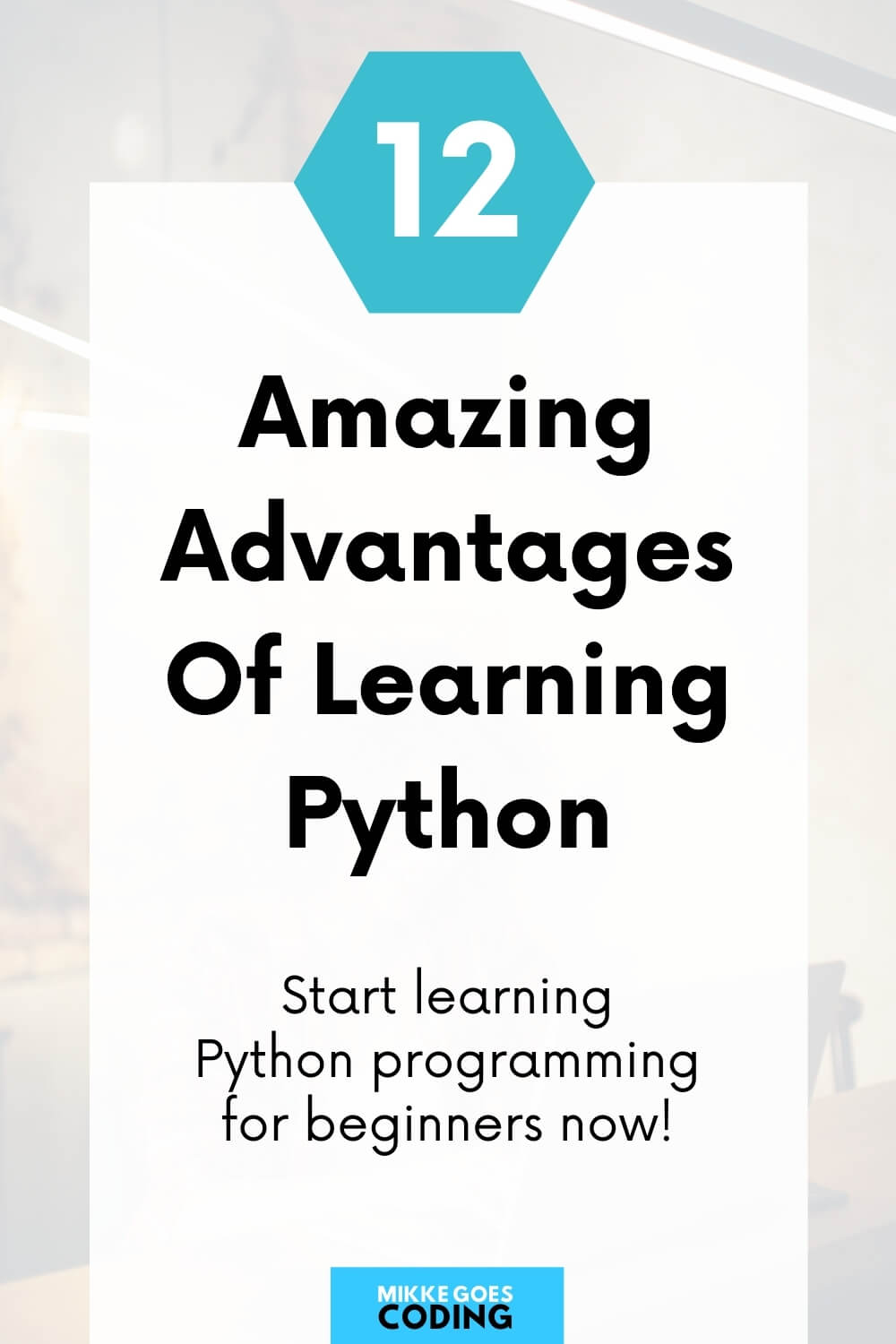 Advantages of learning Python coding