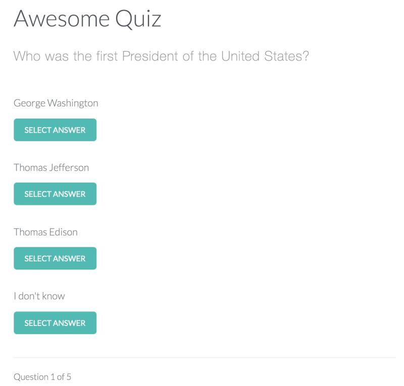 JavaScript quiz