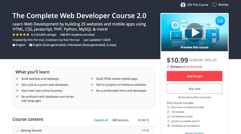 The Complete Web Developer Course 2