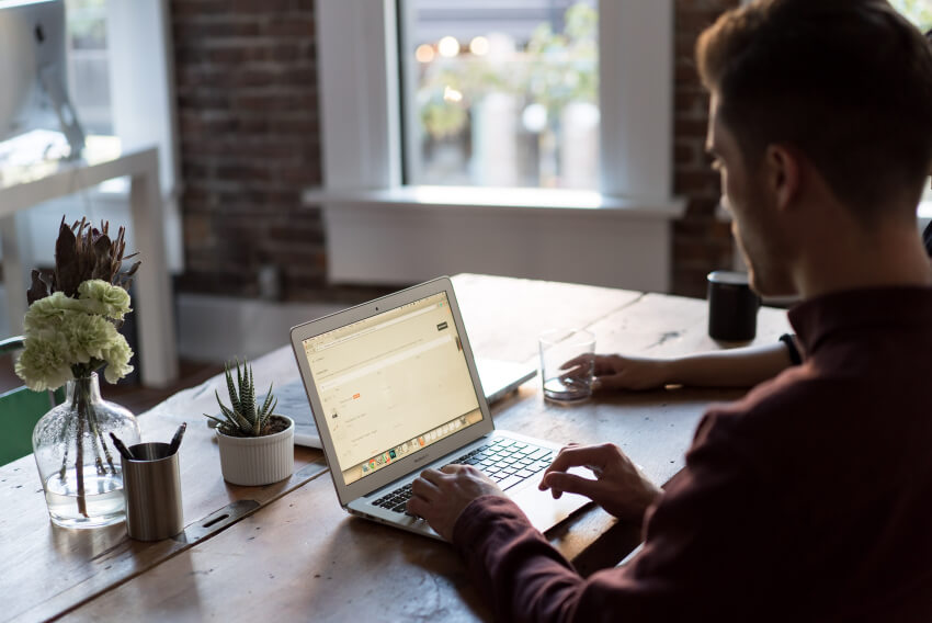 Remote work freelance web developer