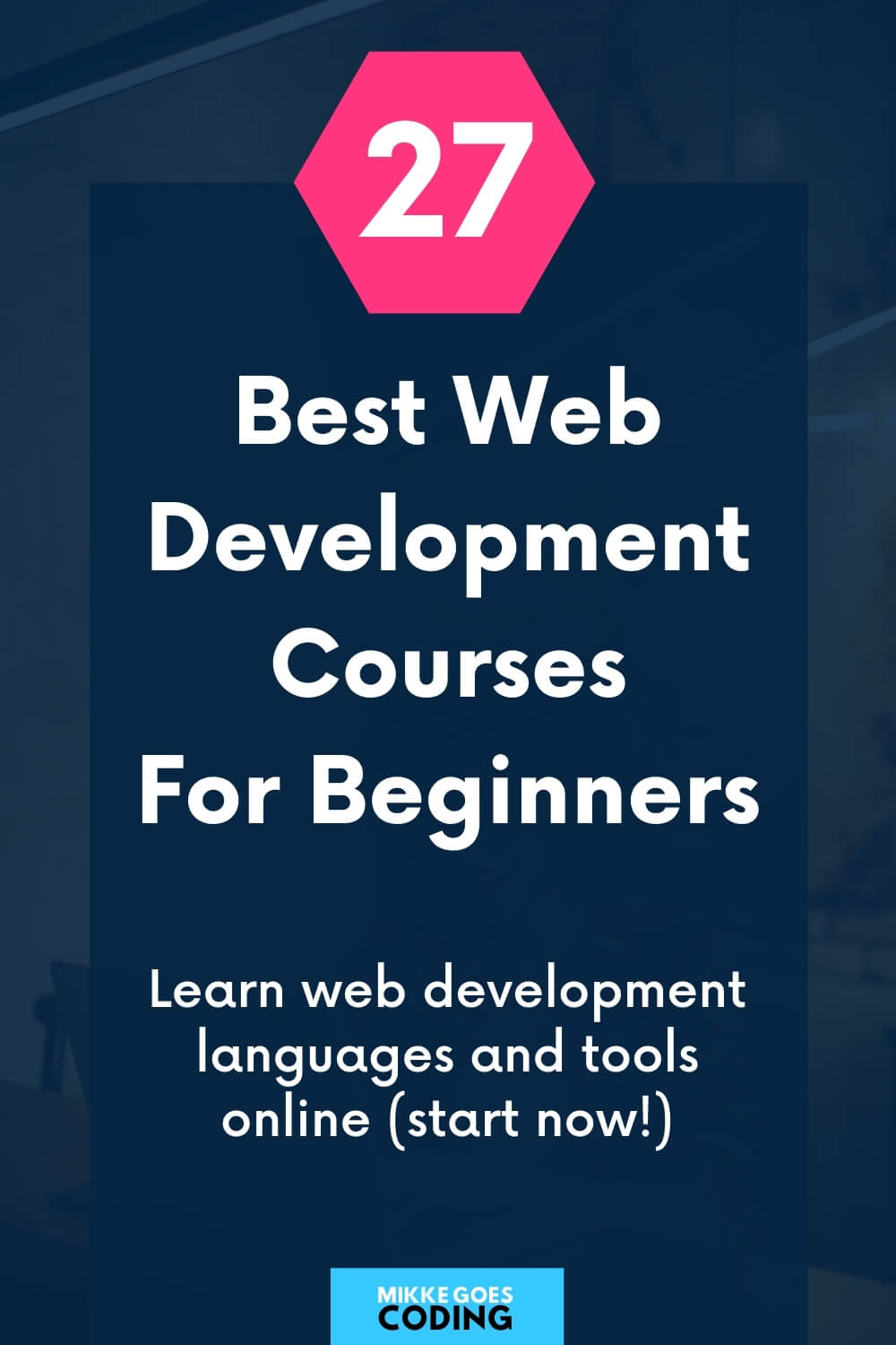 The best web development courses for beginners