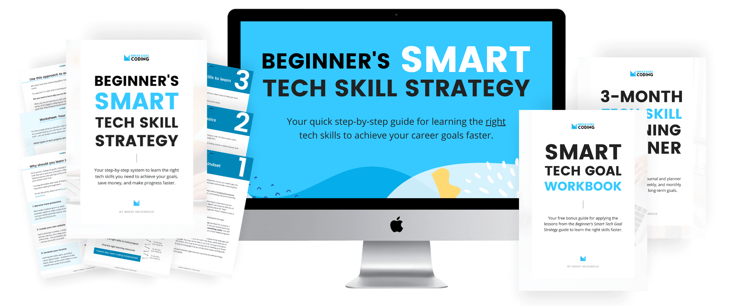 Learn coding and web development faster - Beginners Smart Tech Skill Strategy Guide 02 - MikkeGoes