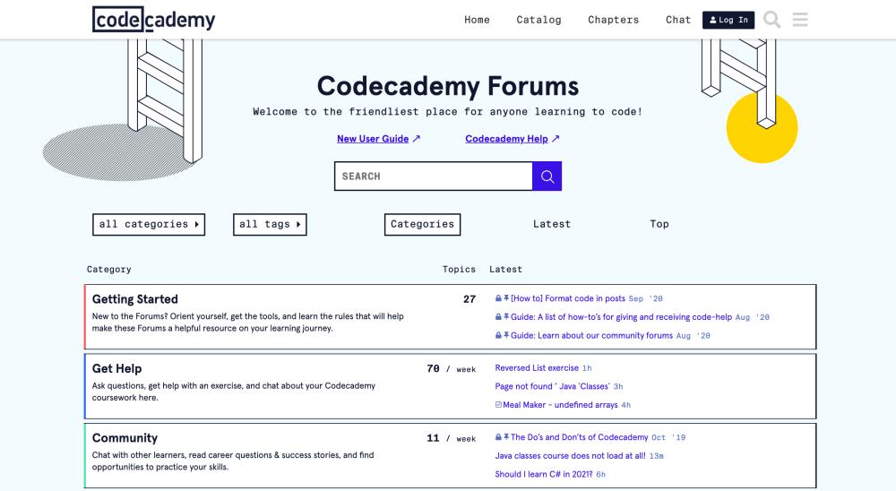 Codecademy Forums