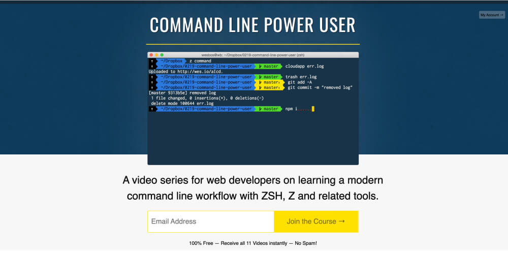 Command Line Power User