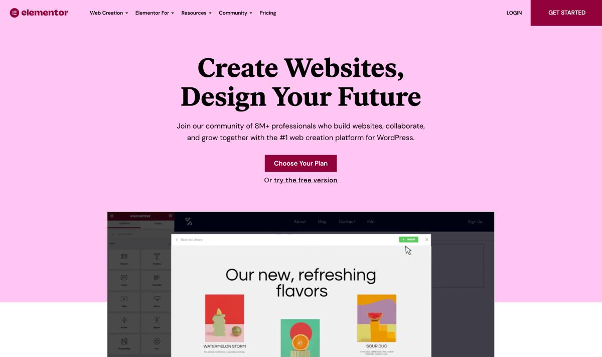 Elementor – Free WordPress website builder
