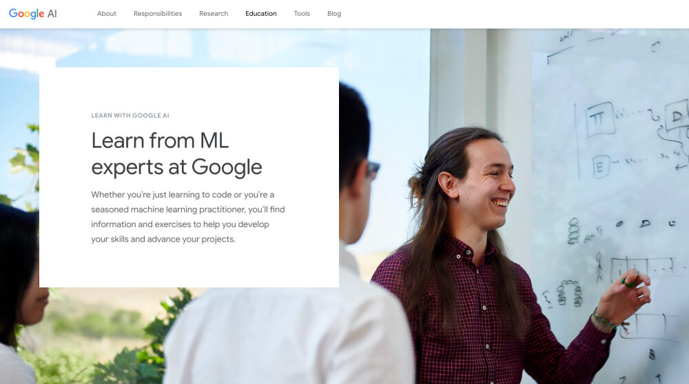 Google AI - Free machine learning and artificial intelligence resources