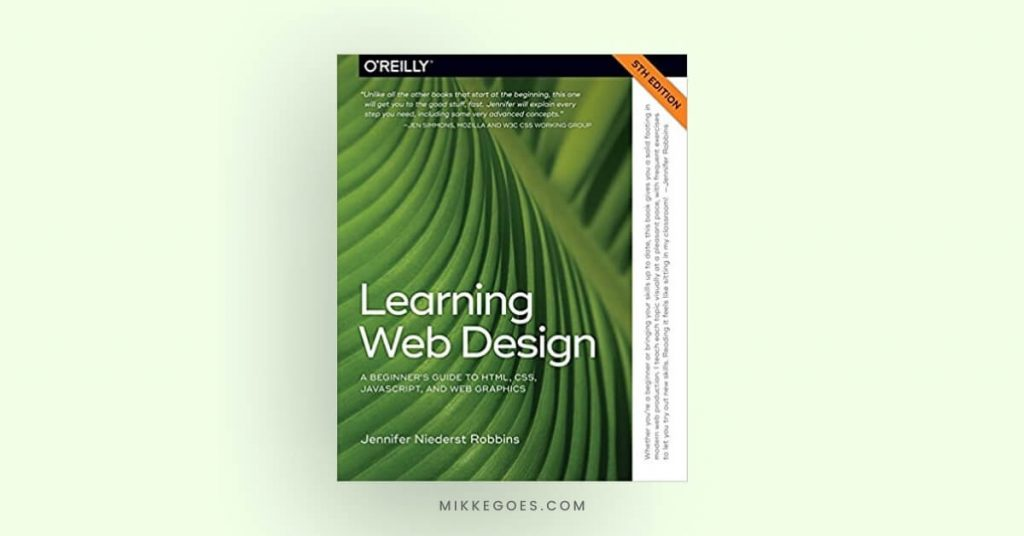 Learning Web Design - A Beginners Guide