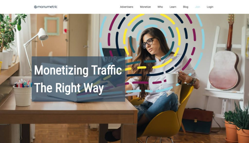 Monetize your website with Monumetric
