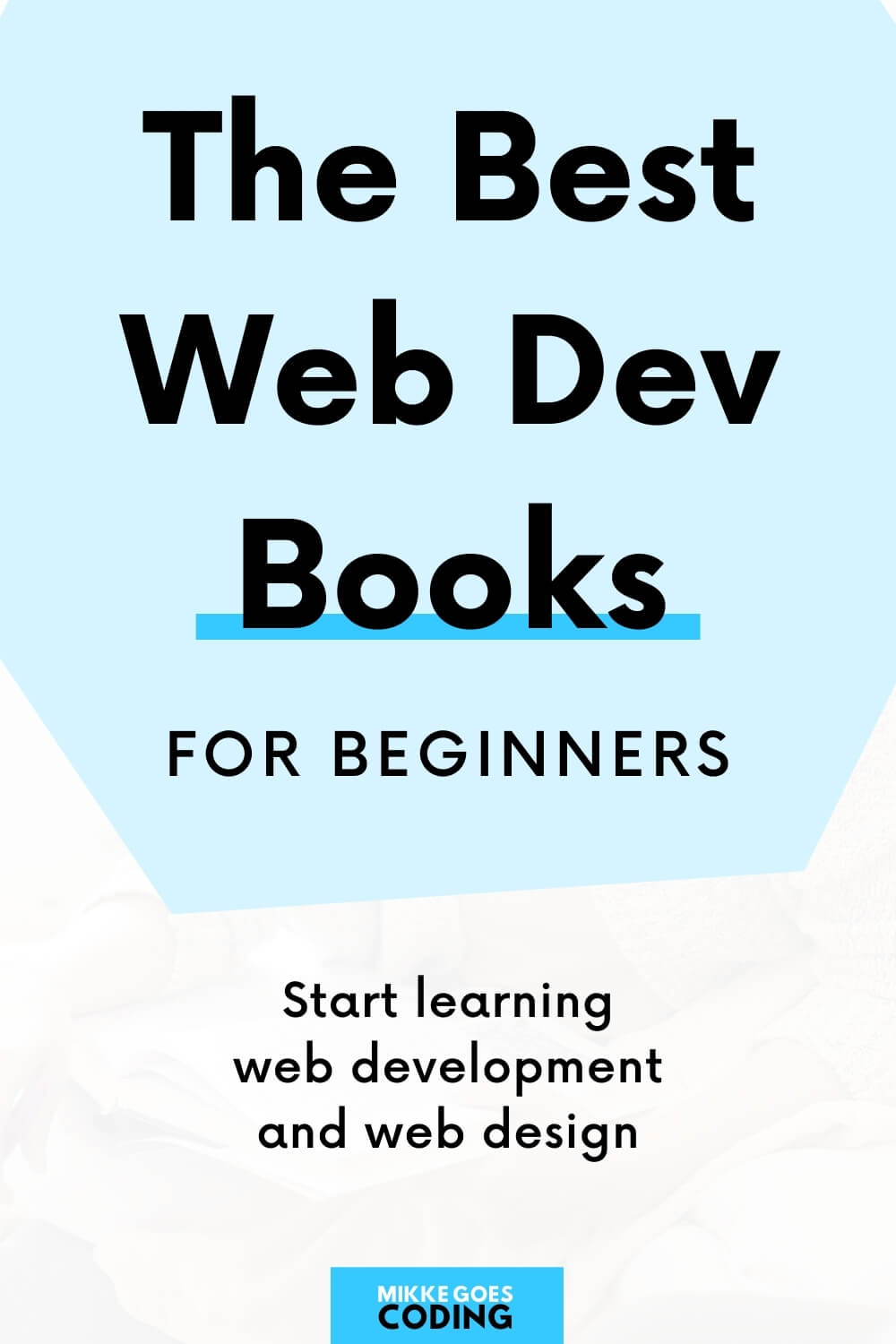 The best web development and web design books for beginners